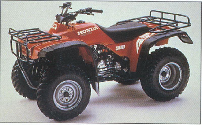 Honda 300 Trx. Honda - TRX 300