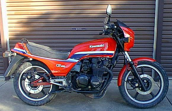 The Kawasaki 550 at MotorBikeSpecs.net, the Motorcycle Specification