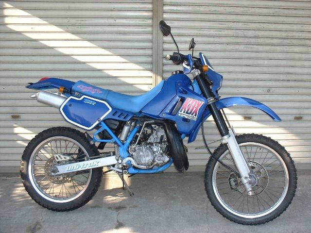 Kawasaki Kdx  Sr