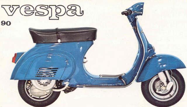 Vespa 90 Parts