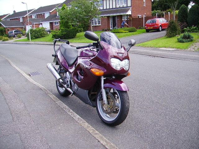 Suzuki Motorcycles Gsxr 750 : 1994 Suzuki GSX-R 750 W