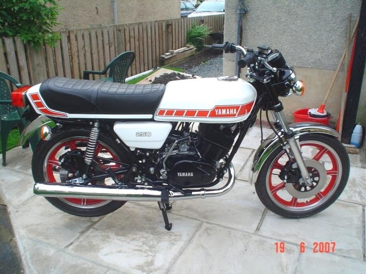 Yamaha Rd Dx Specs