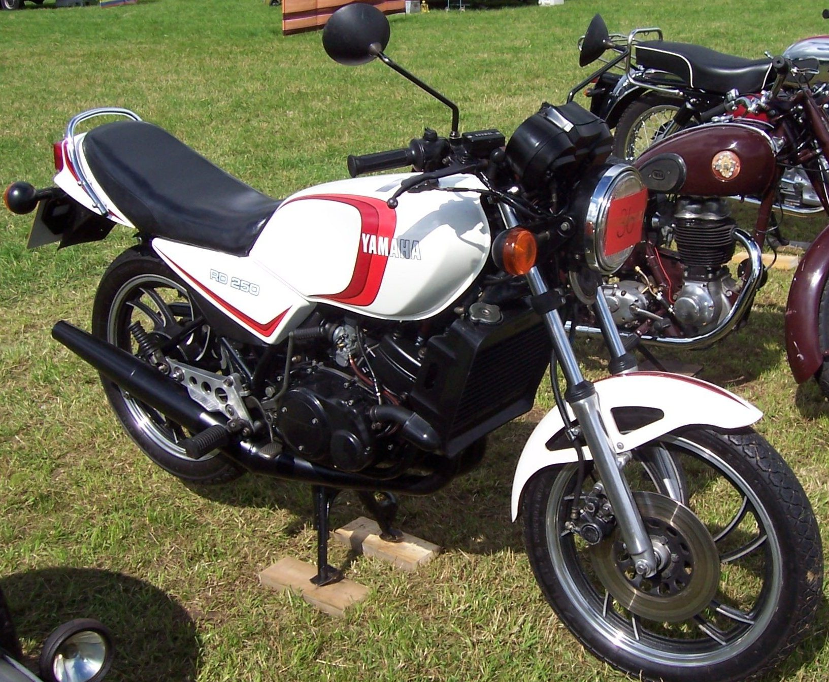 the yamaha 250 at the motorcycle. Black Bedroom Furniture Sets. Home Design Ideas
