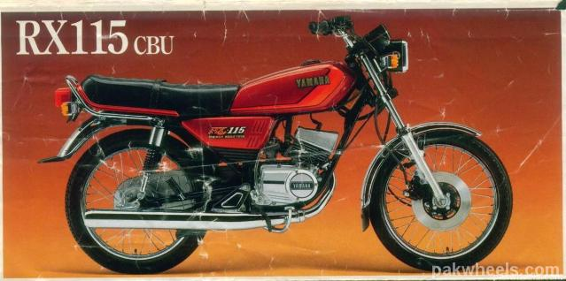 Yamaha motorcycle specification database for Yamaha rx115 motorcycle for sale