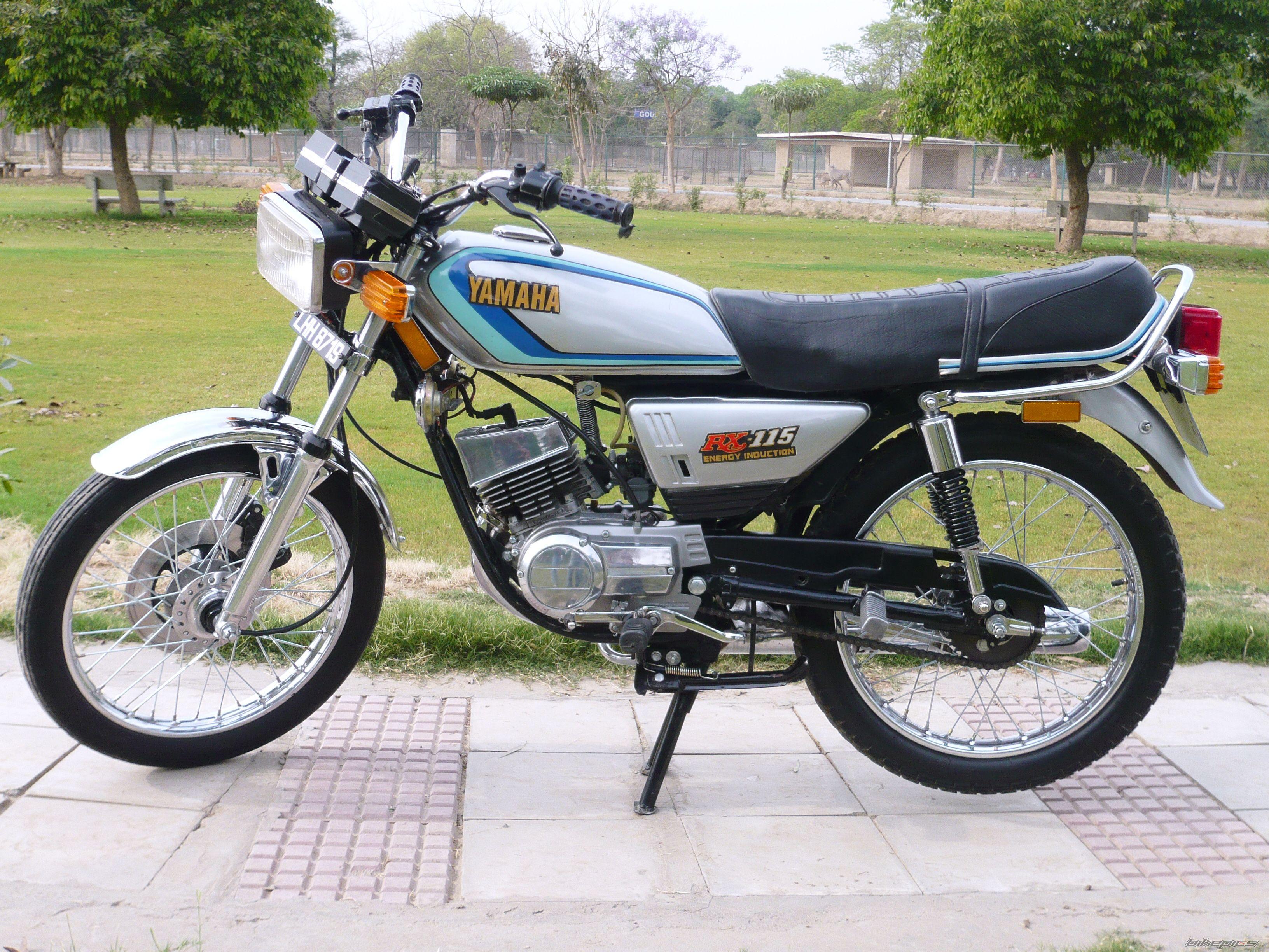 The Yamaha 115 at , the Motorcycle