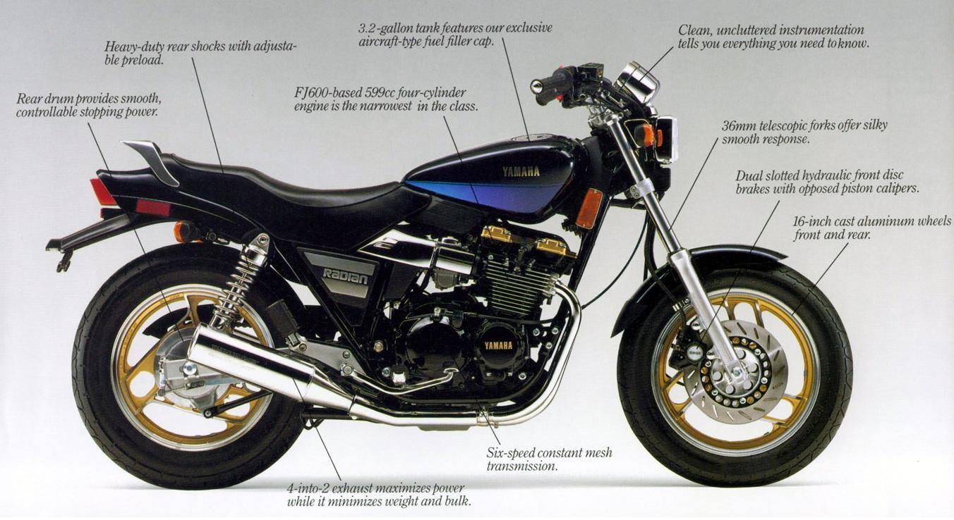 Yamaha Radian YX 600 on Behance | Autos y motocicletas